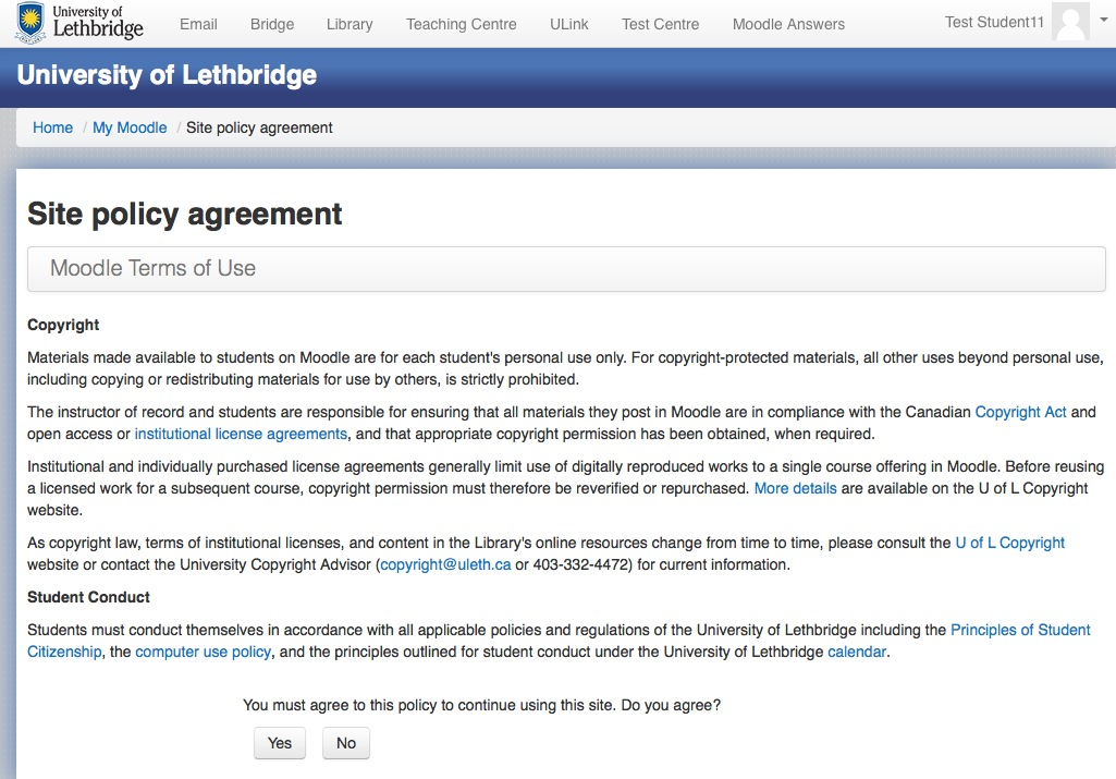 Terms Of Use >> Moodle Terms Of Use Policy Agreement Moodle Answers